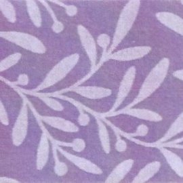 Pannolenci decorato foglie 30x40 cm - 250191 - 43 - Lilla/Lilla Pastello