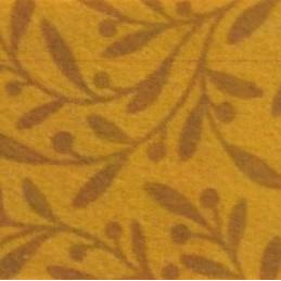 Pannolenci decorato foglie 30x40 cm - 250191 - 48 - Senape/Marroncino