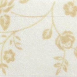 Pannolenci decorato rose 30x40 cm - 250193 - 25 - Bianco Panna/Beige