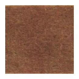 Feltro in fogli 3 mm 50x70cm - 5301 - 04 - Terra marrone