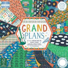 FEPAD158 Grand Plans 30x30cm