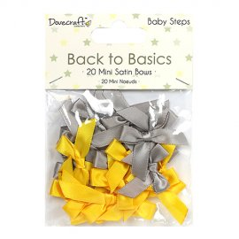 Mini fiocchi satinati Back to Basics DCRBN026
