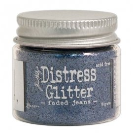 Distress Glitter Ranger Tim Holtz - Faded Jeans TDG39167