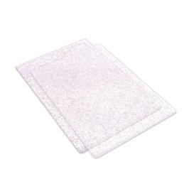 Sizzix Accessory - Pads, Standard 1 paio trasparente coi glitter argento 662141