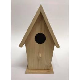 Casetta di legno grezza da...