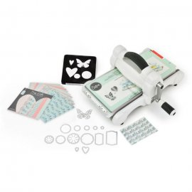Sizzix Big Shot in Starter Kit con carta stoffa e fustelle 661545