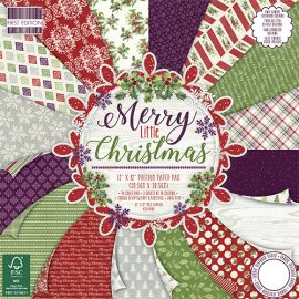 Blocco carta First Edition Merry Little Christmas 30x30