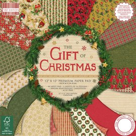 Blocco carta First Edition The Gift of Christmas 30x30