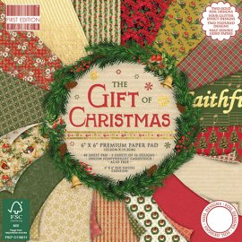 Blocco carta First Edition The Gift of Christmas 15x15
