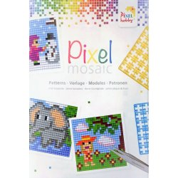 "Libretto Pixelhobby ""Pixel mosaic"" per modelli 6x6 cm"