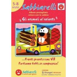 """Album - """"Gli animali al volante"""" 100AL0542"""