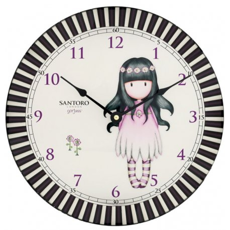 Orologio da parete Gorjuss - 768GJ04 - Oops a Daisy