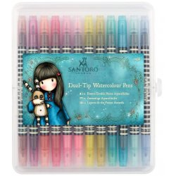 Colori Acquerellabili Gorjuss - GOR 851101 - Dual-Tip Watercolour Pens