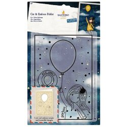 Fustella sottile Gorjuss Santoro - GOR 503015 - Fly Away With Me Cut & Emboss Folder