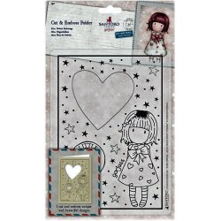 Fustella sottile Gorjuss Santoro - GOR 503014 -  Gorjuss Little Heart Cut & Emboss Folder