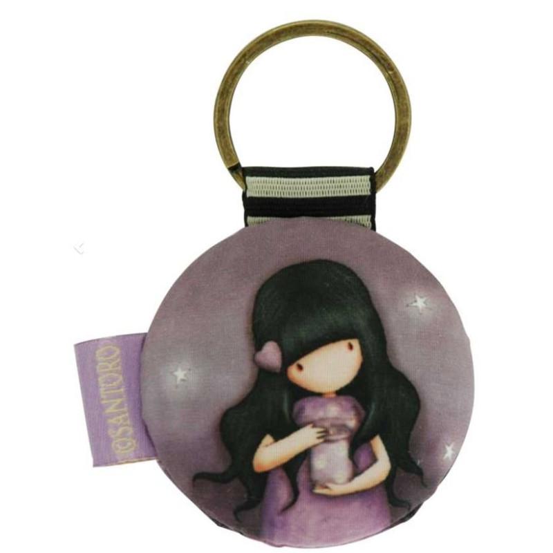 Gorjuss Round Key Ring - We Can All Shine 332GJ09