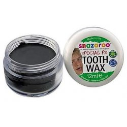 Cera per denti color nero 12 ml - Snazaroo Special FX - 1198190