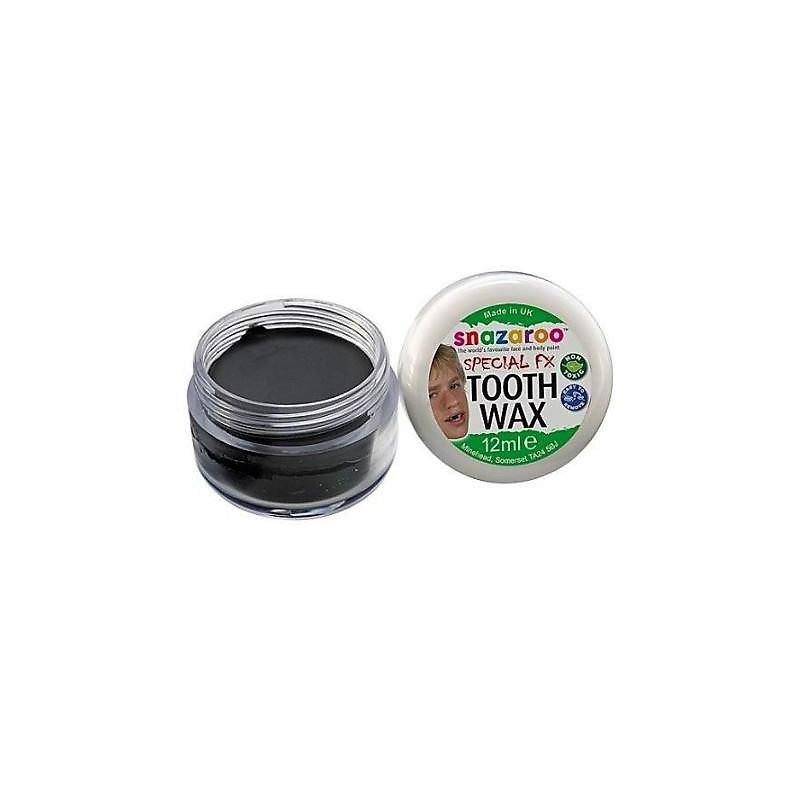 Cera per denti color nero 12 ml -  Snazaroo Special FX - 1198190