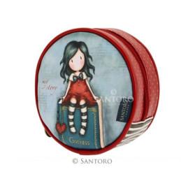 Borsa rotonda pochette Gorjuss di Santoro My Story - 662GJ03
