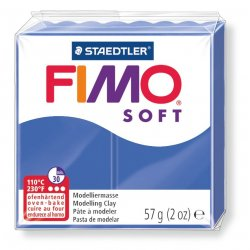 FIMO SOFT BLU BRILLANTE 33