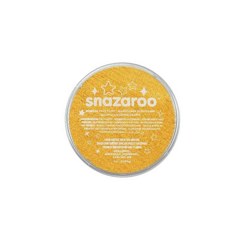 colori snazaroo sparkle 18 ml giallo