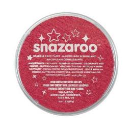 Colori Snazaroo Sparkle 18 ml Rosso