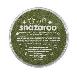 colori snazaroo sparkle 18 ml verde Scuro