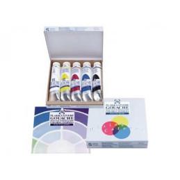 Confezione Tempere Talens Extra-Fine Colori Primari, 5 tubi 20ml