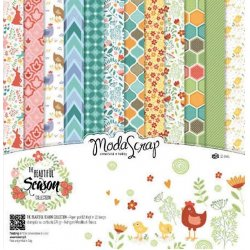 Carta blocco Scrap La Stagione bellissima- MSA15BBS - THE BEAUTIFUL SEASON 15x15cm
