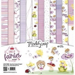 "Carta blocco Scrap - il mondo delle fate - Land of Fairies LOFPP12 30x30cm (12""x 12"")"