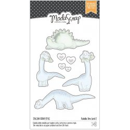 Fustella Sottile ModaScrap -Dinosauri - MSF 1-067 Dino Land2