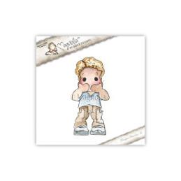 Timbro Magnolia - Non sparlare Edwin!- Speak No Evil Edwin 1 stamp