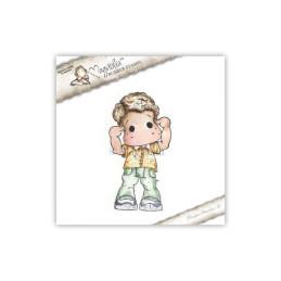 Timbro Magnolia - Non ascoltare Edwin! - Hear No Evil Edwin 1 stamp