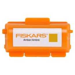 Inchiostro per rullo a stampa continua - FISKARS- Colore Oro - 1004684