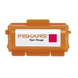 Inchiostro per rullo a stampa continua - FISKARS- Colore Rosso -FKS005577