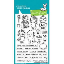 Timbro Lawn Fawn - Halloween -  LF1458