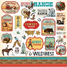 Adesivi - Cowboy Country - CBCC77016