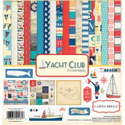 "Carta Blocco Scrap - Yacht Club -CBYC52016- 30x30 (12""x 12"")."