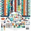 "Carta blocco Scrap - Imagine that! - ITB147016 30x30cm (12""x12"")"