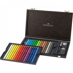Confezione  da 30 colori a matita Acquerellabili Faber-Castel - 116900