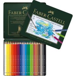 "Confezione  da 24 colori a matita Acquerellabili Faber-Castel ""Albrecht Durer"" 117524"