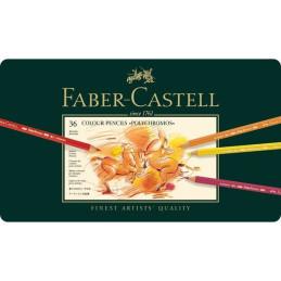 Confezione  da 36 colori a matita Polychromos Faber-Castel 110036