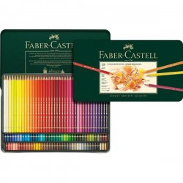 Confezione da 120 colori a matita Polychromos Faber-Castel 110011