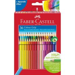 Confezione da 36 matite Colour Grip Faber-Castell 112442