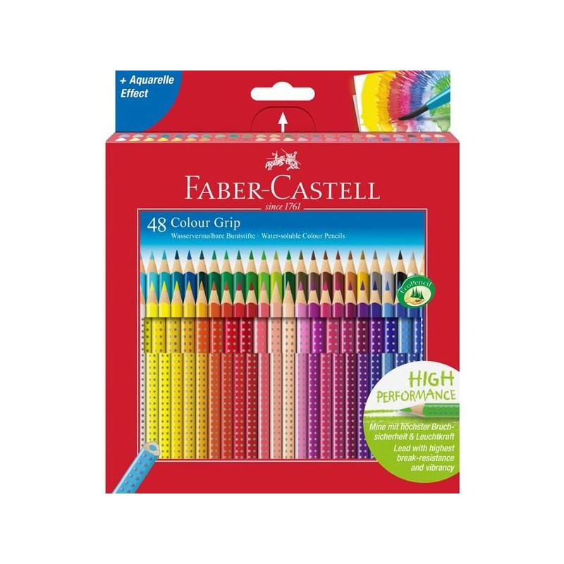 Confezione da 48 matite Colour Grip Faber-Castell 112449