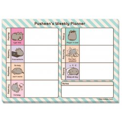 Plan da scrivania Pusheen Weekly Planner PUSH1309