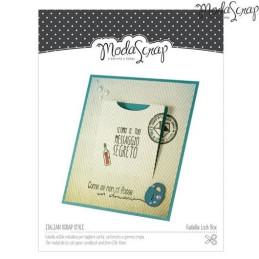 Fustella sottile ModaScrap - Messaggi segreti - MSF 1-013 LOCK BOX