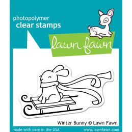 Timbro Lawn Fawn - Coniglio invernale - LF327