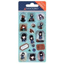 Stickers Gorjuss di Santoro - 680GJ03 You Brought Me Love