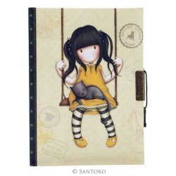 Quaderno Segreto Gorjuss Lockable Journal Ruby - 577GJ05